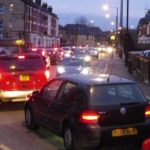 Misery for drivers and residents: Hornsey Park Road evening traffic