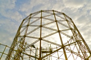 Gasholder 1 under threat from the Heartlands development