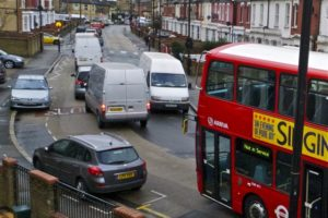 Bus on Hornsey Park Road