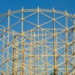 Gasholder 1: from relic of a bygone age to a 'thing of beauty'