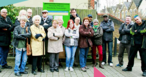 Residents campaigning against rubbish dumping and fly tipping
