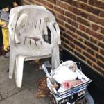 Rubbish dumped in Malvern Road