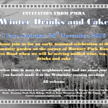 Winter Drinks outside the Mall - everybody welcome!