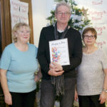 Noreen, Dorothy and John from PMRA at the 'Haringey in Bloom' awards ceremony