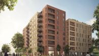 Computer generated image of the proposed development