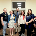 Ryan Burton King shared the meeting, All three Labour candidates and a Green candidate were present. The Lib Dems and Conservatives were represented by local residents.