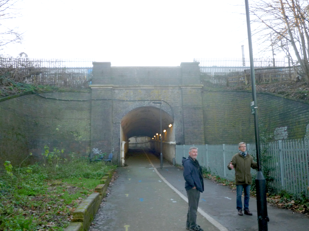 Penstock Path and Tunnel